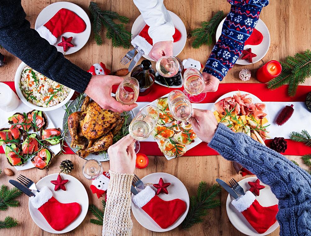 Recetas ligeras y saludables para las Navidades